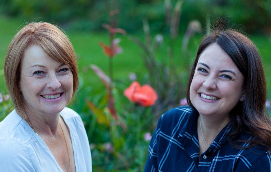 Becky and Helen Penfold