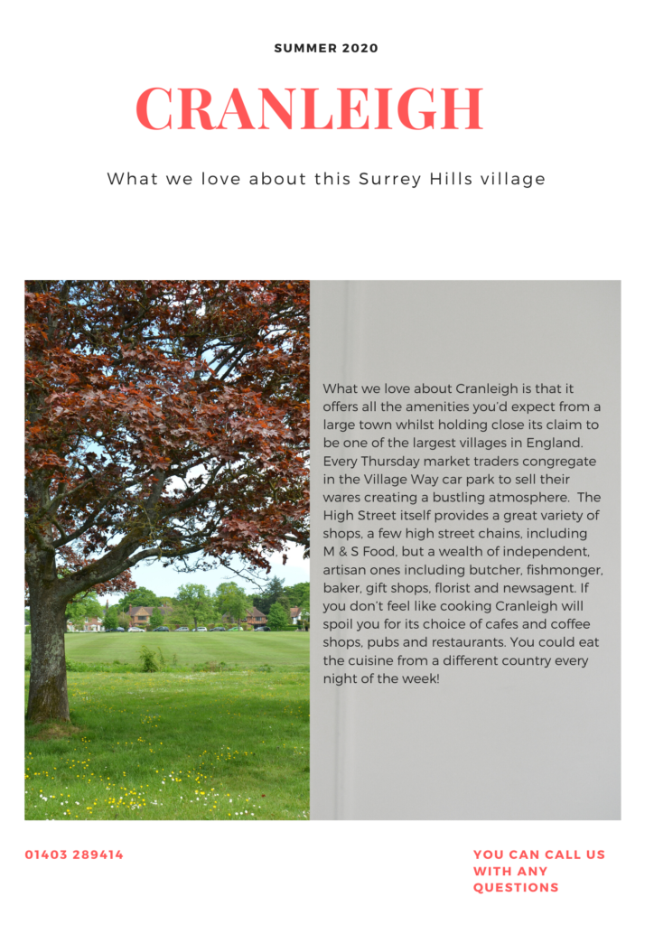cranleigh village guide