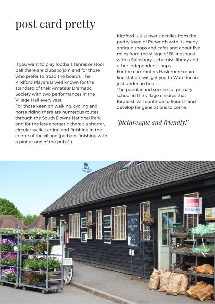 kirdford village guide