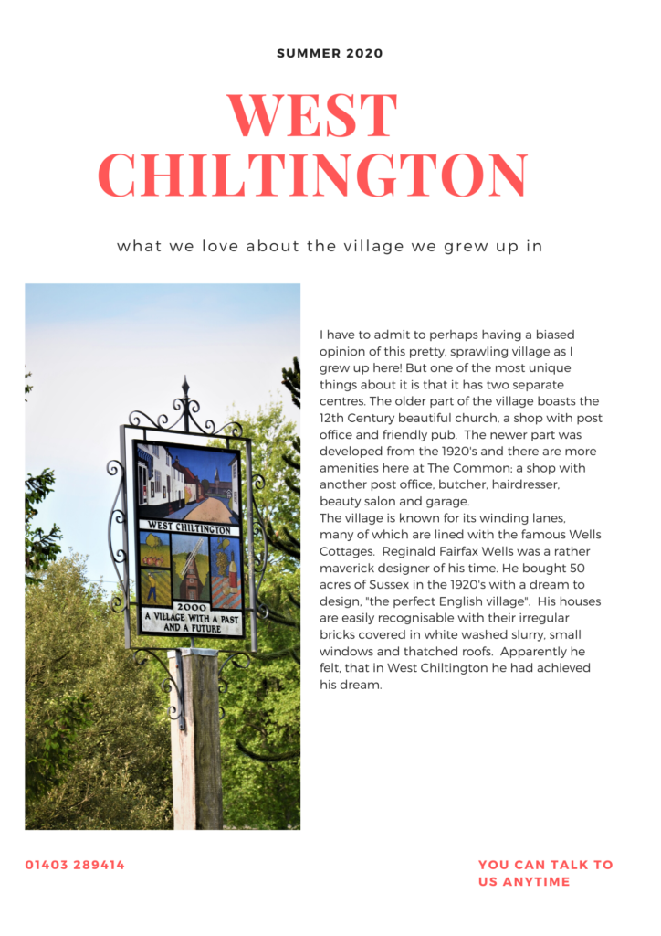 west chiltington village guide