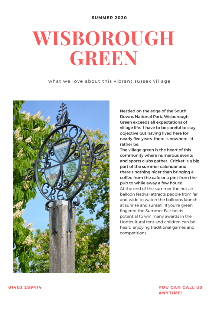 wisborough green village guide